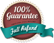 Once fail, Full Refund